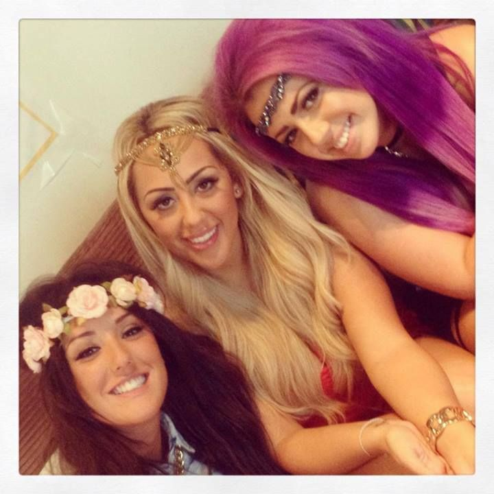 Geordie Shore Girls, Charlotte, Sophie and Holly