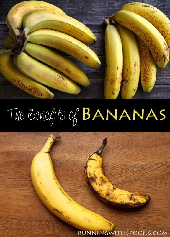 The Health Benefits of Bananas -- why you need to add more of this amazing fruit to your diet.