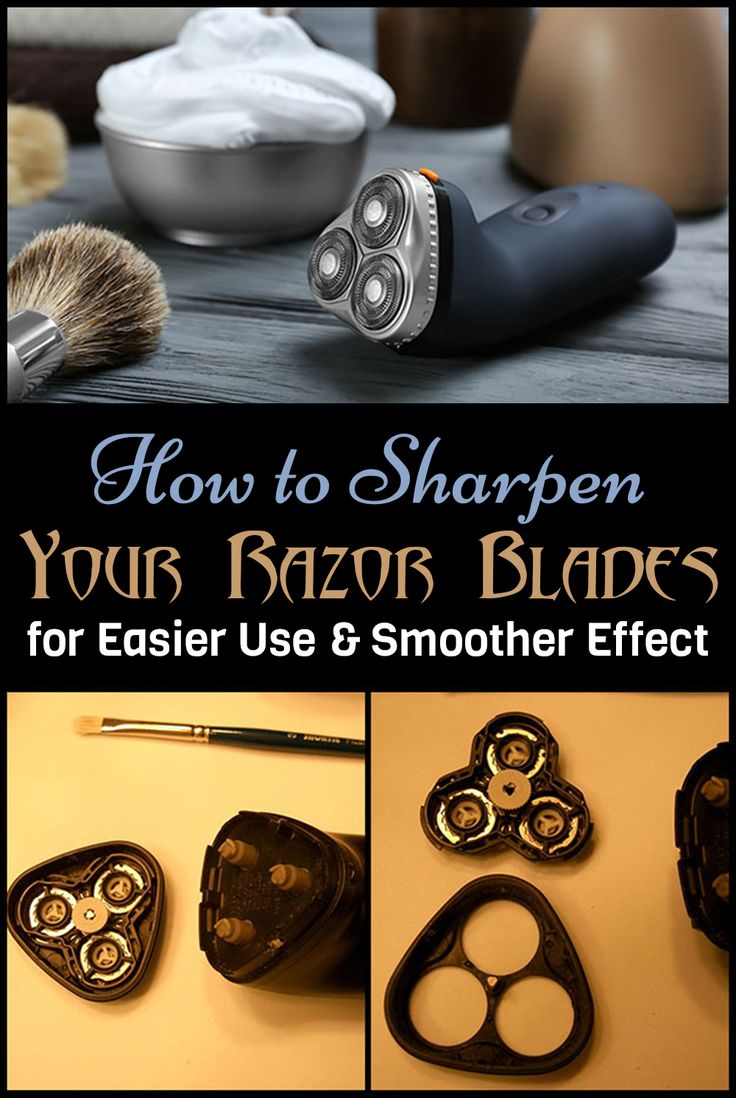 How to sharpen your razor blades for easier use and