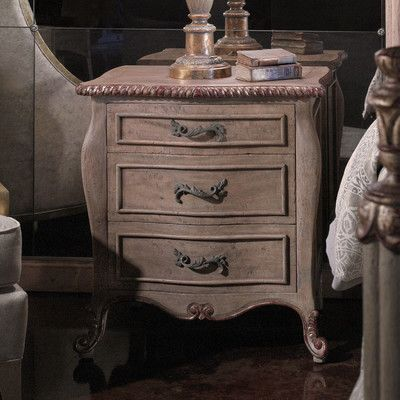 Modernly Classic 3 Drawer Nightstand - http://delanico.com/nightstands/modernly-classic-3-drawer-nightstand-612104872/