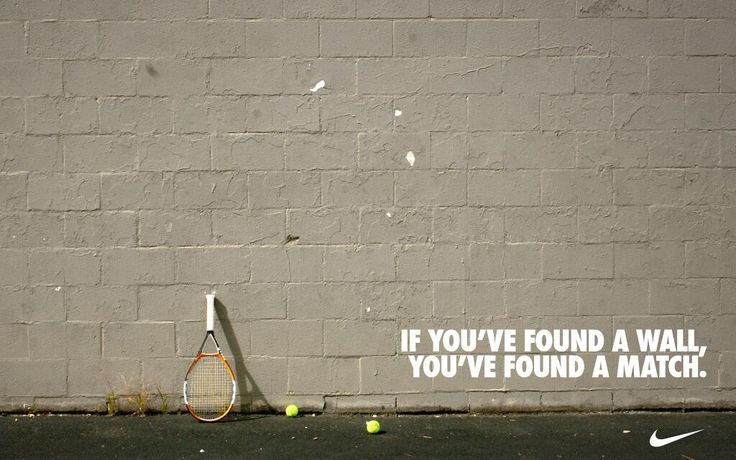 If you've found a wall, you've found a match.