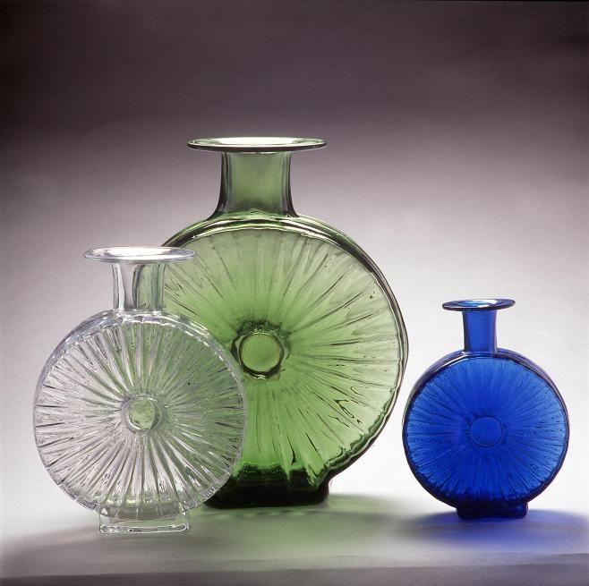 Löytyykö kaapistasi Helena Tynellin suunnittelema Aurinkopullo? Verholasina valmistettu tuote on harvinaisuus.