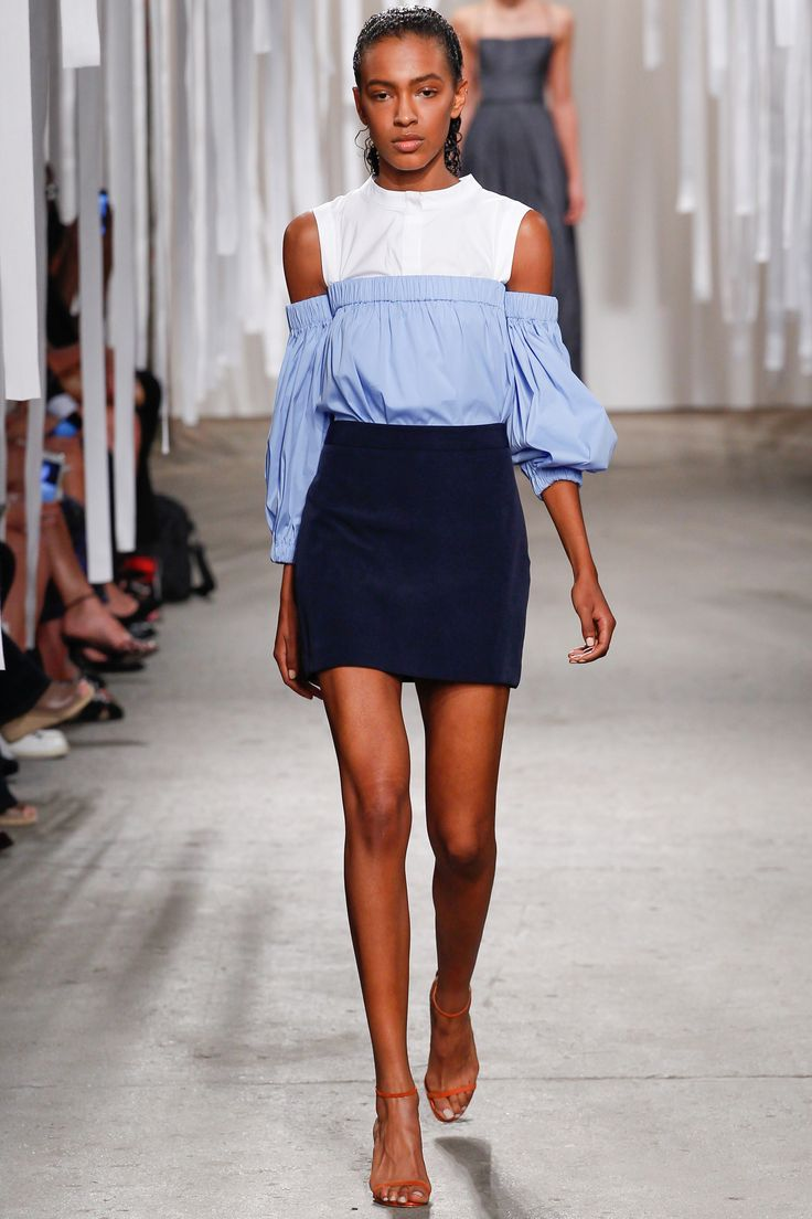 Milly Spring 2016 Ready-to-Wear Collection Photos - Vogue  http://www.vogue.com/fashion-shows/spring-2016-ready-to-wear/milly/slideshow/collection