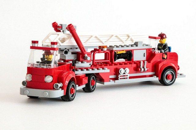 Camion de pompier LEGO vintage