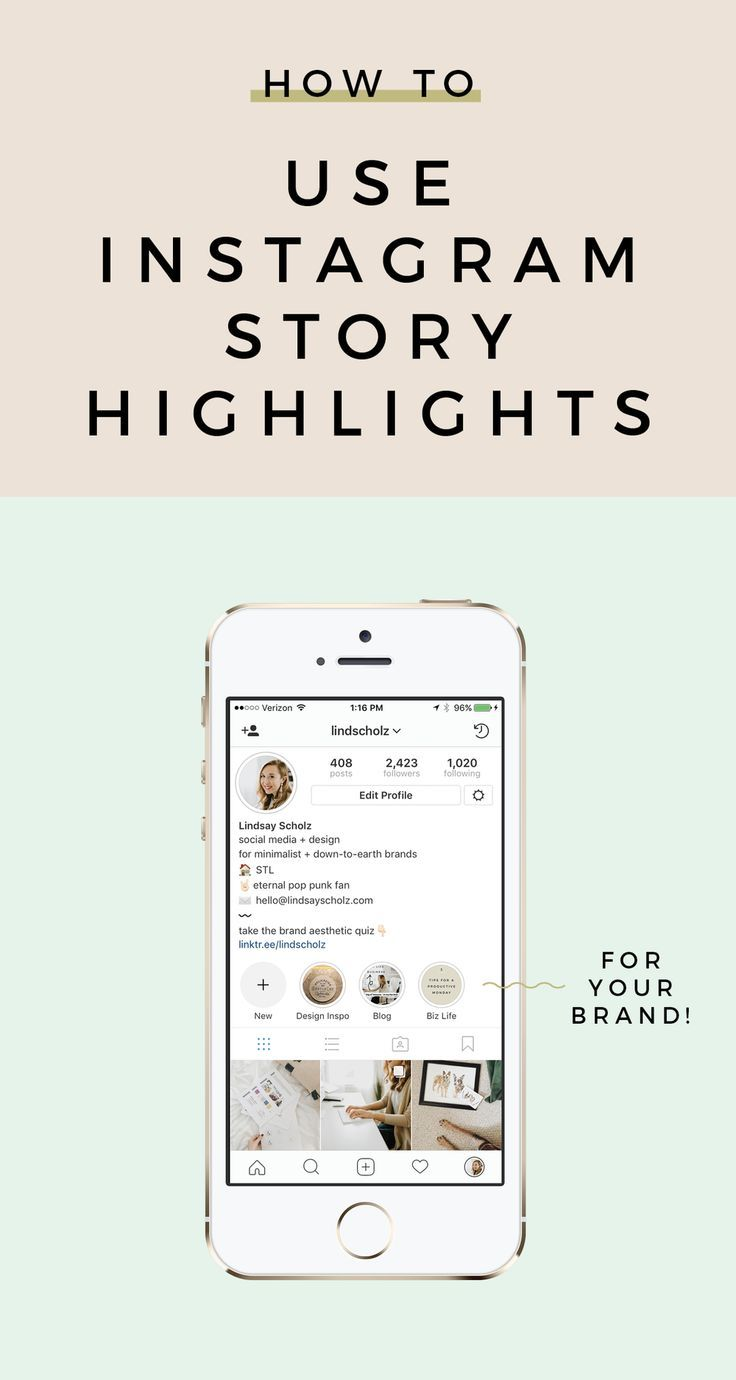 Wondering how to use Instagram's new Story Highlights feature to elevate your brand on the platform? I'm sharing three ways you can start sharing today!   Instagram tips, How to grow on Instagram, Social media tips, Instagram strategy, Instagram algorithm
