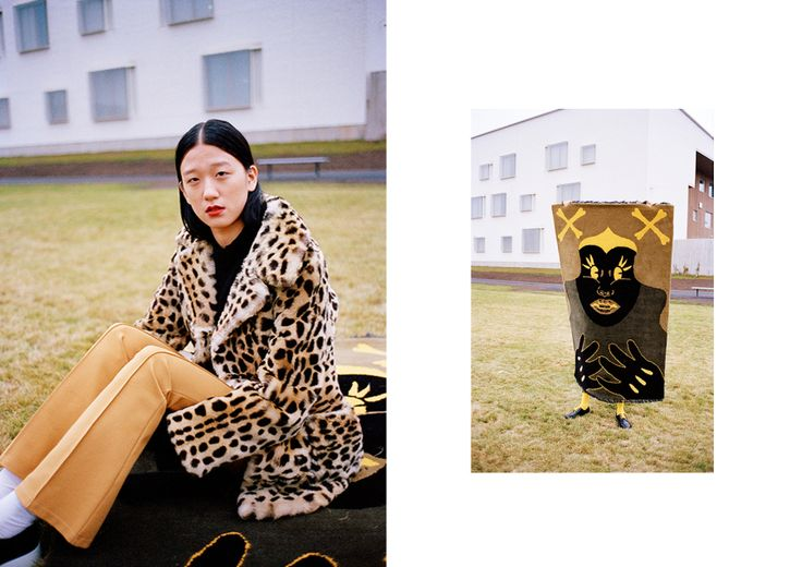Anne Törnroos/ Styling, Fashion editorial, Ulap Magazine, model, film photography, panther, minni havas, photo: Andrei Kipahti