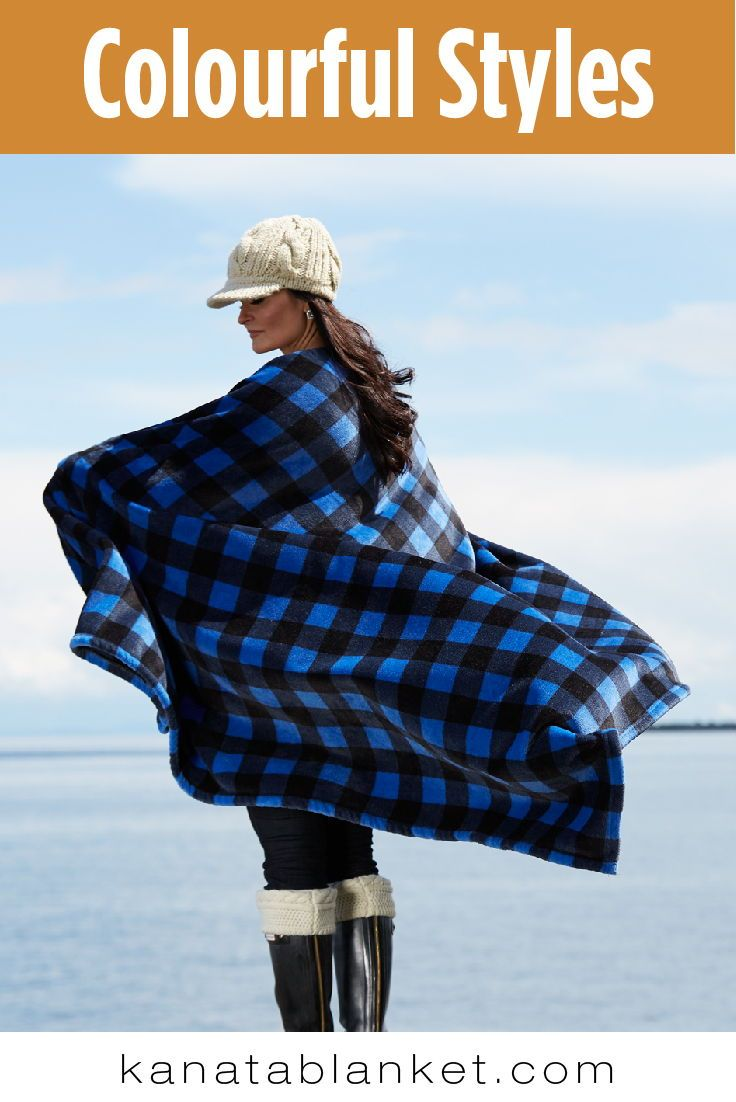 The Cabin Throw comes in several styles. Check out our website for more. Follow us @kanatablanket