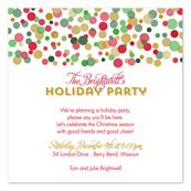 Christmas Cocktail Party Invitations by InvitationConsultants.com