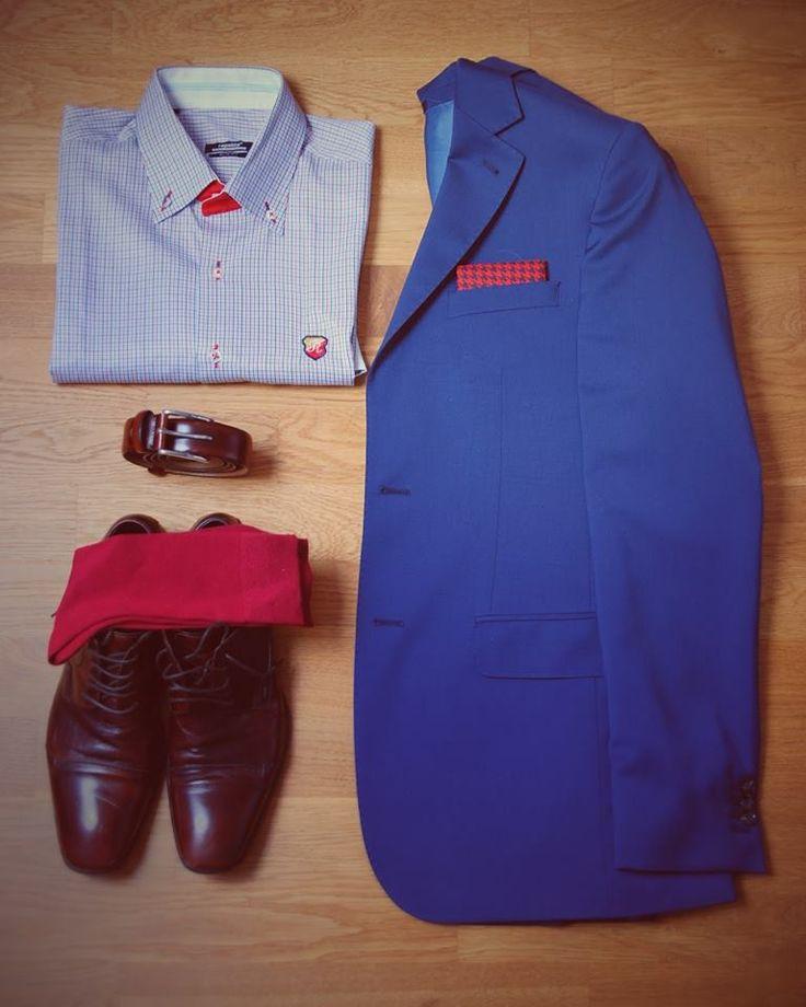 Zestawy na wyjazd biznesowy / outfit for business trip  #StyleToGo #poszetka #koloroweskarpety #sammyicon