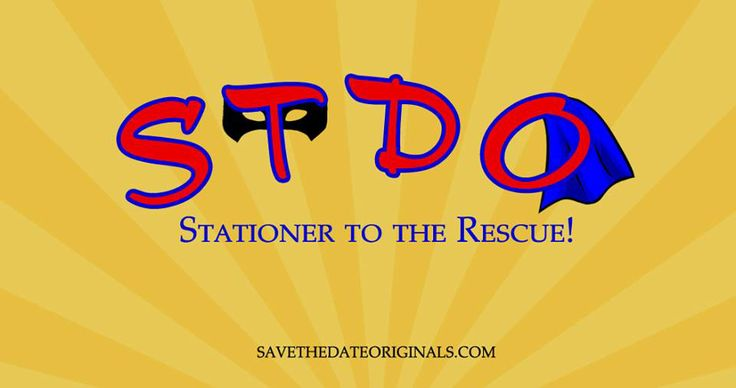 Stationer to the Rescue!  The Save the Date Originals facebook page header.