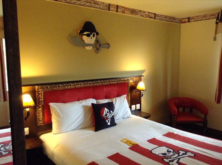 Legoland hotel - The Pirate Room.