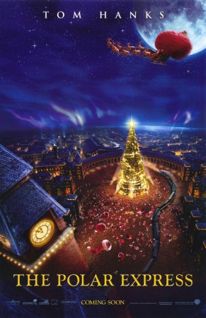 The Polar Express- a must see movie around Christmas time :)