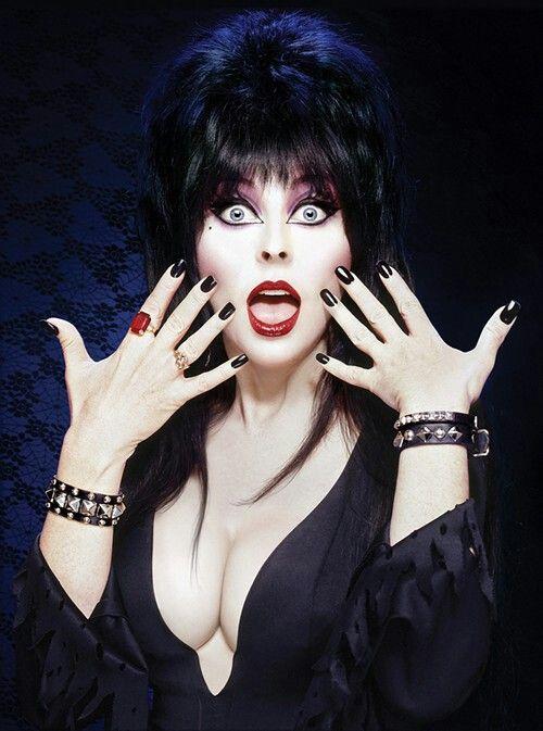 Elvira, e sua beleza.