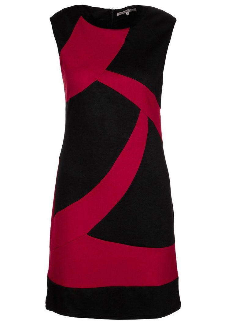 rood zwarte jurk