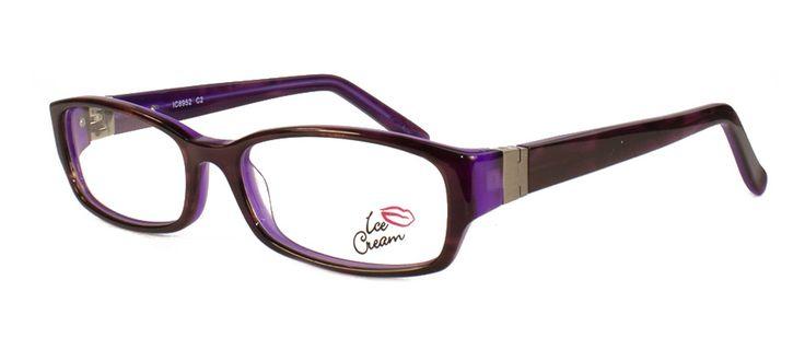 ICE CREAM 8952 DEMI BROWN/PURPLE | Vogue Optical - 2nd Pair Free - Designer Glasses, 2 Year Guarantee