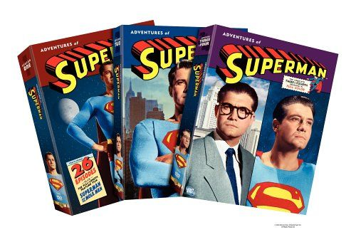 Adventures of Superman - The Complete First Four Seasons @ niftywarehouse.com #NiftyWarehouse #Superman #DC #Comics #ComicBooks