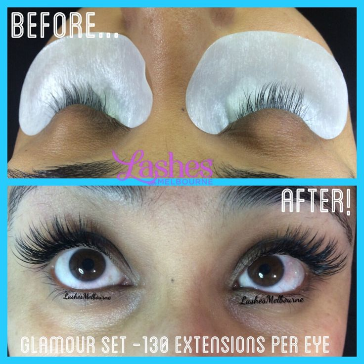 Beautiful Classic Set of Glamour Lash Extensions by our Senior Lash Tech, Daniela #lashesmelbourne #eyelashextensions #eyelashextensionsmelbourne #melbournelashes