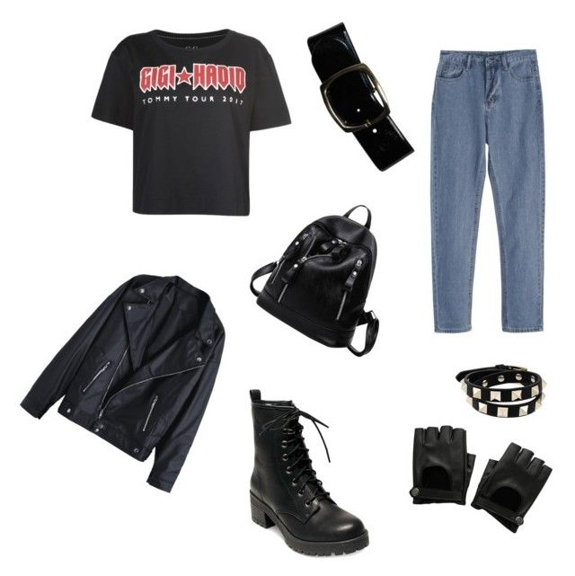 """""""Untitled #32"""" by jennybuutrago on Polyvore featuring Tommy Hilfiger, Madden Girl, Chanel, Hot Topic and Valentino"""