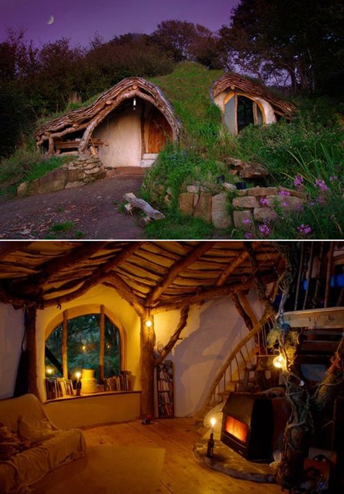 Awesome Hobbit House!