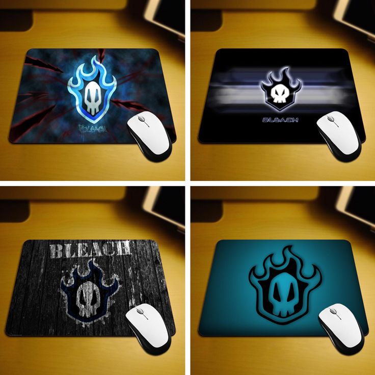 MaiYaCa Bleach Logo New Size Mouse Pad Non-Skid Rubber Pad 18*22cm and 25*29cm Mouse Mats