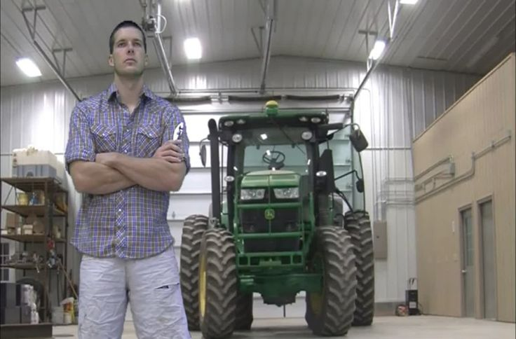"Farmer Derek Klingenberg stars in this music video parodying the very popular YouTube hit ""What does the Fox Say?"" by Ylvis."