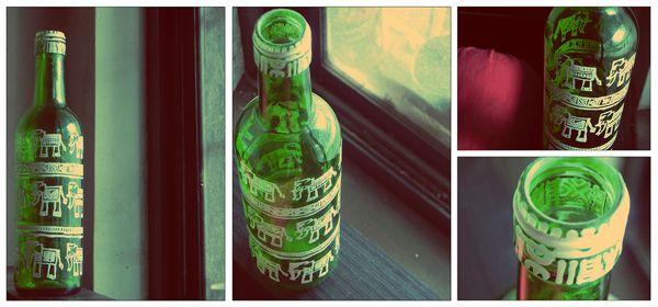 custom bottle art