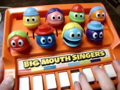 Big Mouth Singers Musical 1970s Toy - Vintage