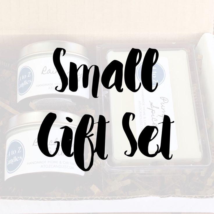 Candle Gift Set, Holiday Gift Set, Christmas Gift Set, Wax Melt Gift Set, Holiday Gift Ideas, Christmas Gift Ideas, Christmas Gifts for Her by AtoZCandles on Etsy https://www.etsy.com/listing/465399278/candle-gift-set-holiday-gift-set