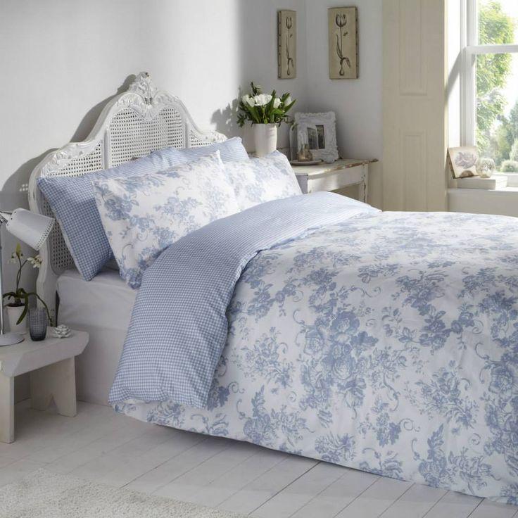 Antoinette Wedgewood Bedlinen #vantonahome #bedding #bedlinen #home #decor #bedroom #vantona