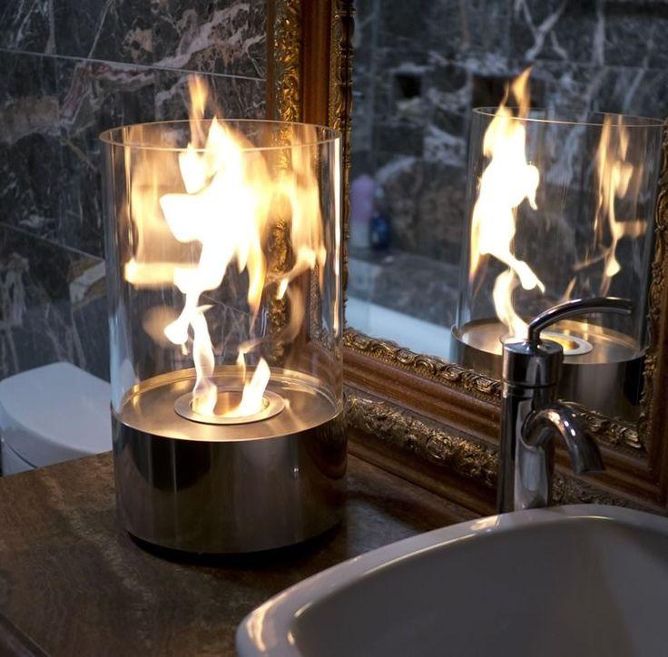 Nu-Flame Accenda Table Top Ethanol Fireplace #modernblaze