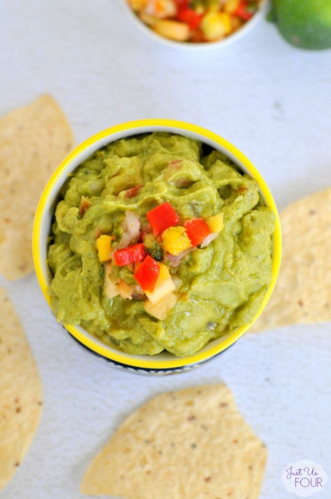 nice Tropical Guacamole - Just Us Four