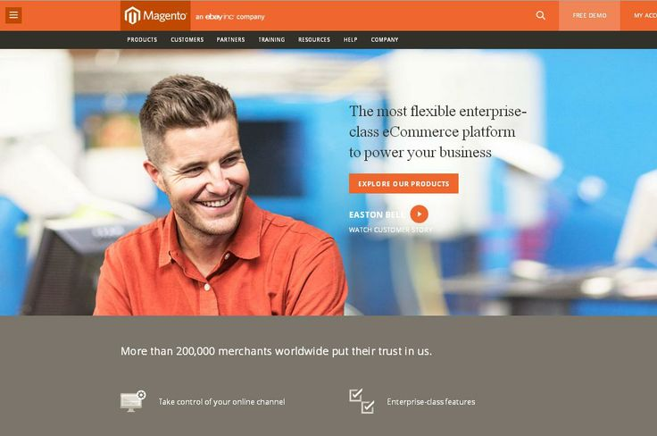 Magento  For More: http://www.themangomedia.com/blog/selecting-right-cms-website-for-your-business-with-industry-trends/