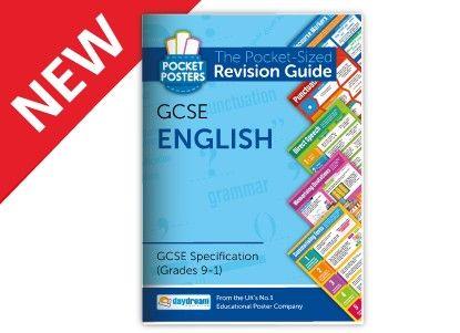 English GCSE Pocket Poster Revision Book
