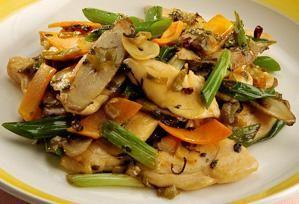鶏と高菜の炒めもの|上沼恵美子のおしゃべりクッキング