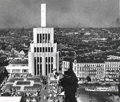 1930 Karstadt am Hermannplatz Dach Terrasse