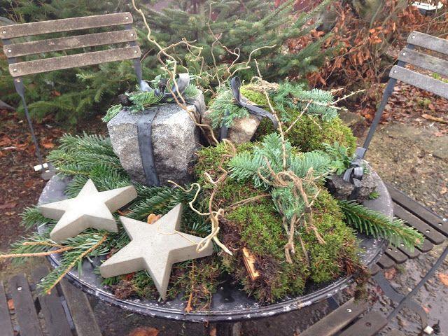Fru Pedersens have: Hjemmelavede julegaver til julehaven.