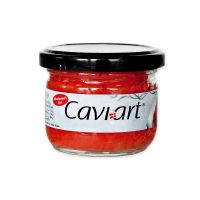 Cavi-Art   Red Lumpfish Caviar  Vegan Caviar