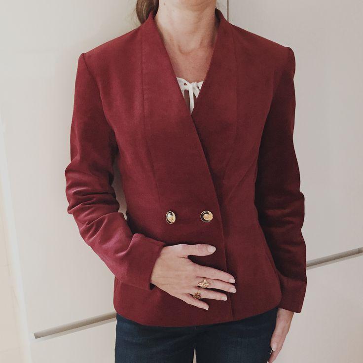Bespoke jacket #littleredjacket #jacket #fashion #KRAL