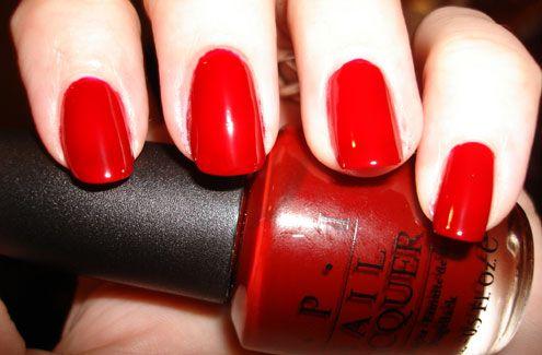 OPI nail polish - St. Petersburgundy