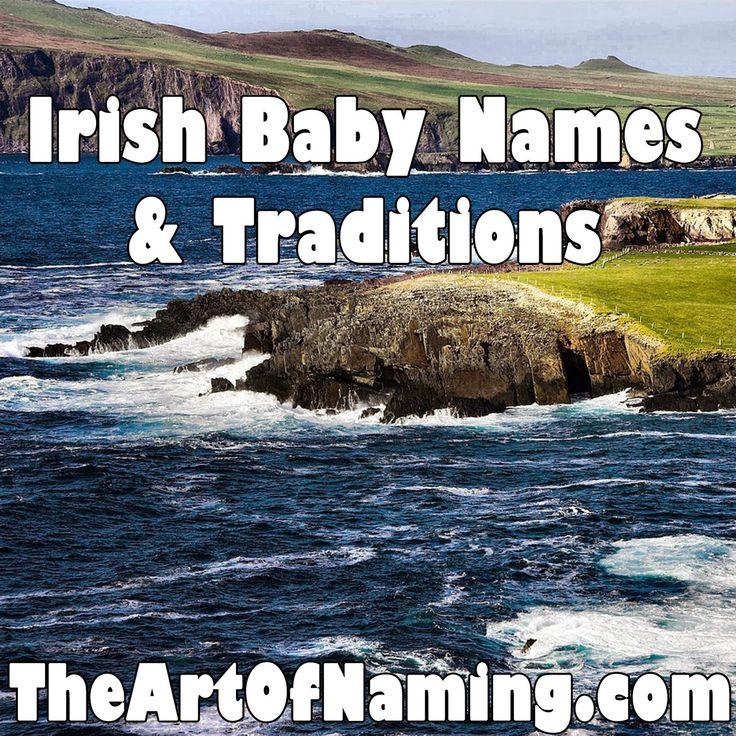 The Art of Naming: World-Wide Wednesday: Irish Baby Names