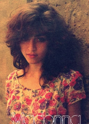 A young Madonna...