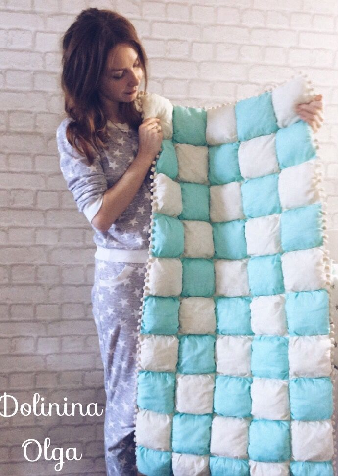 Купить Воздушное одеяло бомбон - одеяло детское, одеяло бомбон, декор в детскую, подарок беременной