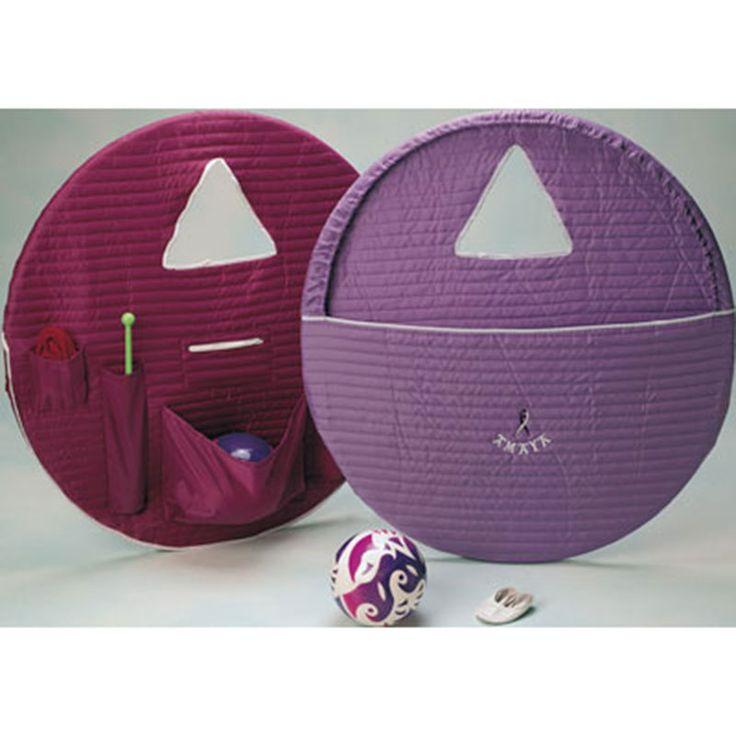 Rhythmic gymnastics apparatus bag. 87cm diameter, suitable for holding hoops, ribbons, ribbons sticks, rhythmic gymnastics balls, gymnastic clubs and gymnastic ropes.