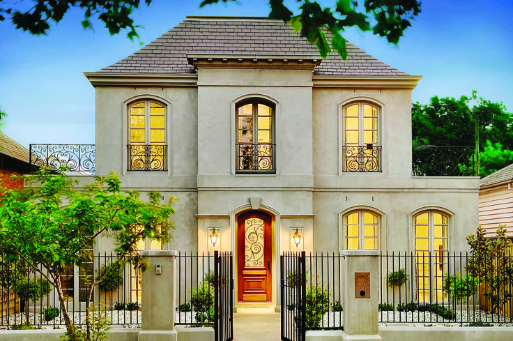 Classical Melbourne Look Home With French Overtones. Ravida- Property With Distinction