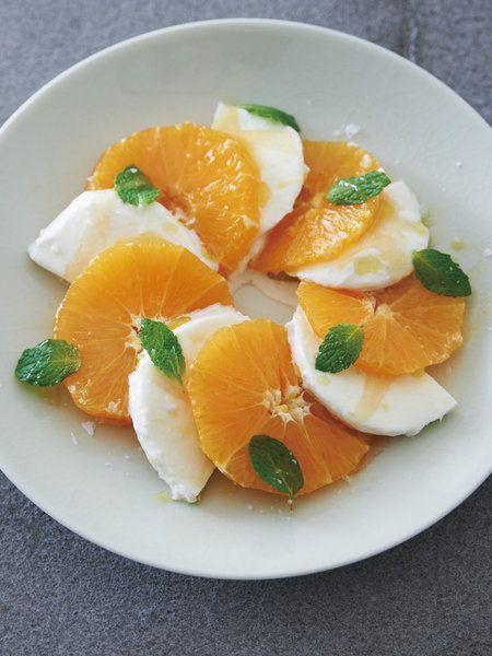 Recipe:オレンジ×モッツァレッラ/はちみつのパワーでさらにおいしさアップ #レシピ