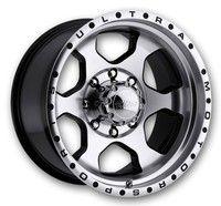 Ultra Wheels 175-Rogue Gloss Black w/ Diamond Cut