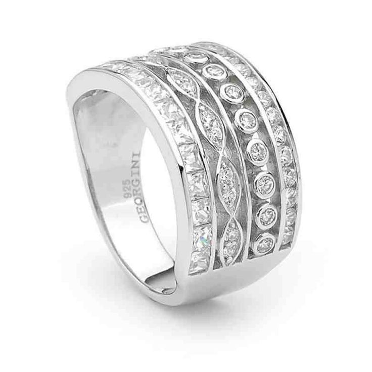 One unique type of Georgian Ring which looks so beautiful...