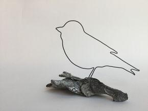 Vogel | Draht | DIY – 3D pen idee