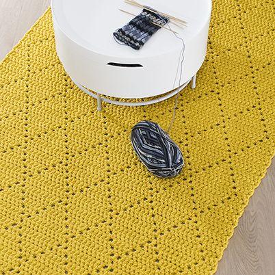 salmiakrutigmatta - Yarn Store Lankava