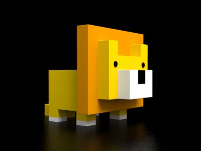 This lion should be 3D printed.